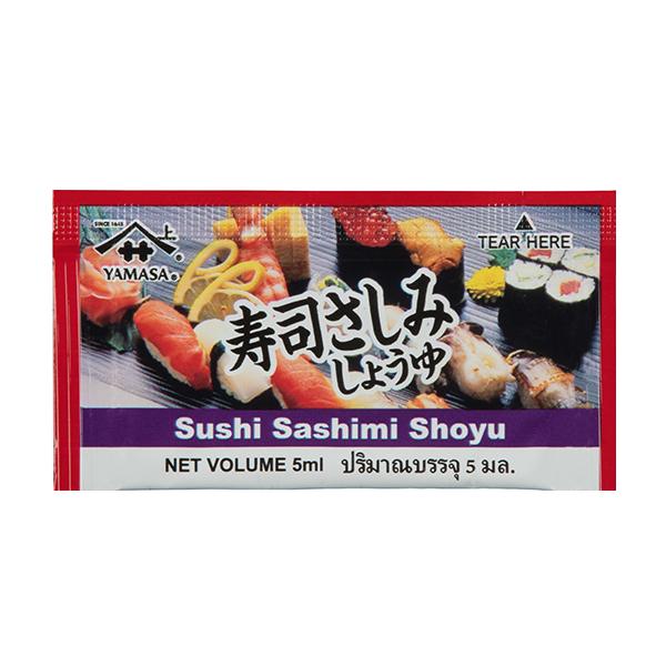 ซอสสำหรับจิ้มซูชิ และปลาดิบ